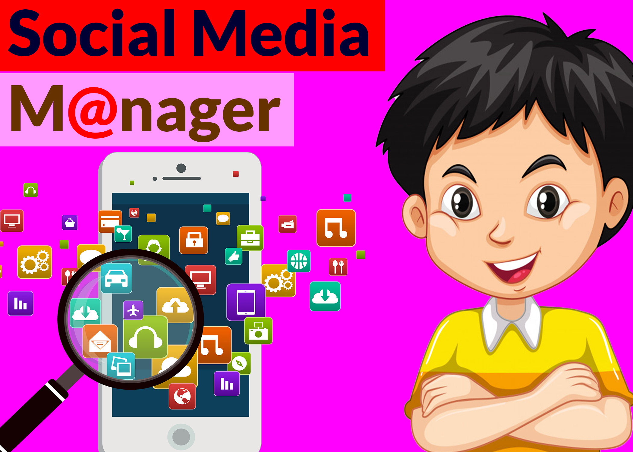 I will be the best social media management and personal assistant