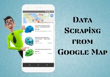 I will do Data Scraping,  lead generation or create contact list from Google Map