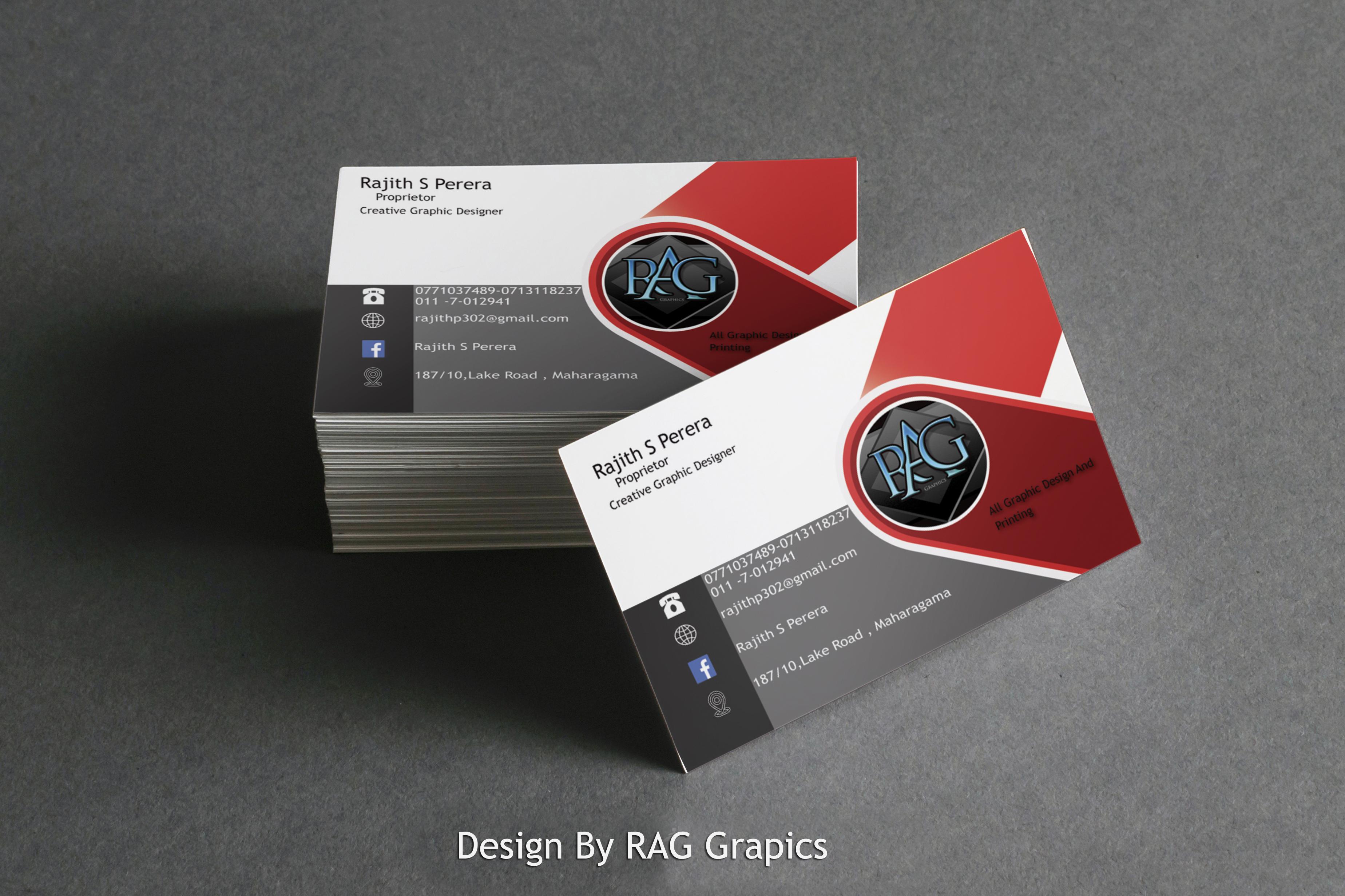 I Will do Creative Business Card