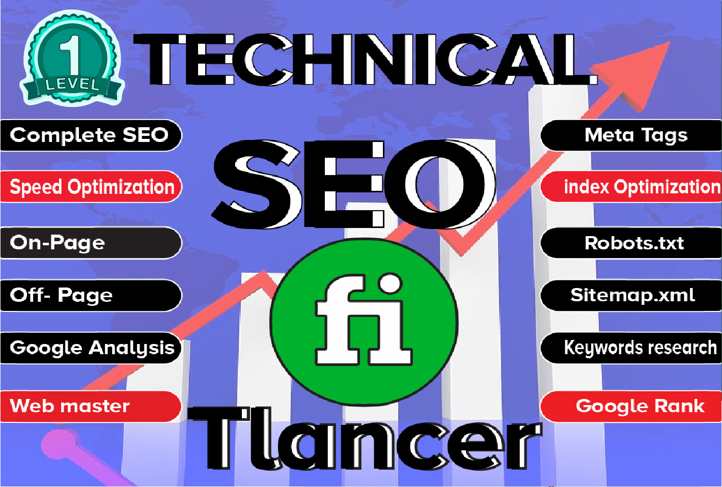 Onsite Onpage complete Technical SEO,  Speed Optimization Google ranking,  keyword research,  meta tags