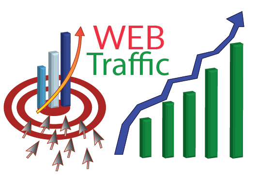 I will bring real visitors in website,  targeted visitors and web traffic in wordwide