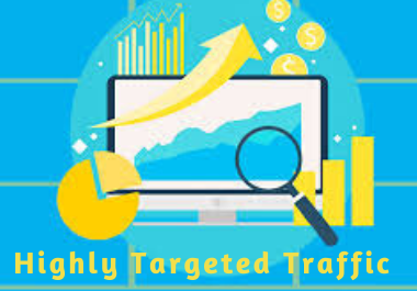 I will bring real visitors, unlimited keyword targeted web traffic