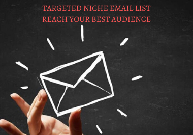 I will create a niche targeted b2b active email list