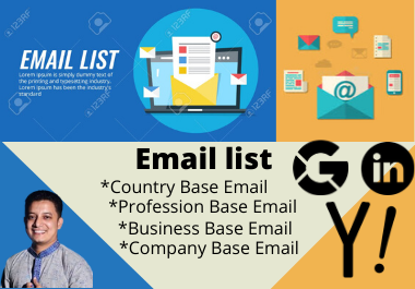 I Will Give Genuine Targeted 5k Audience Email List For You