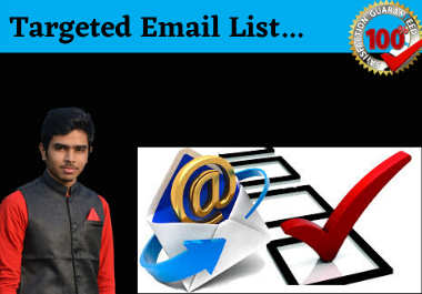 I will collect your targeted email list within short time