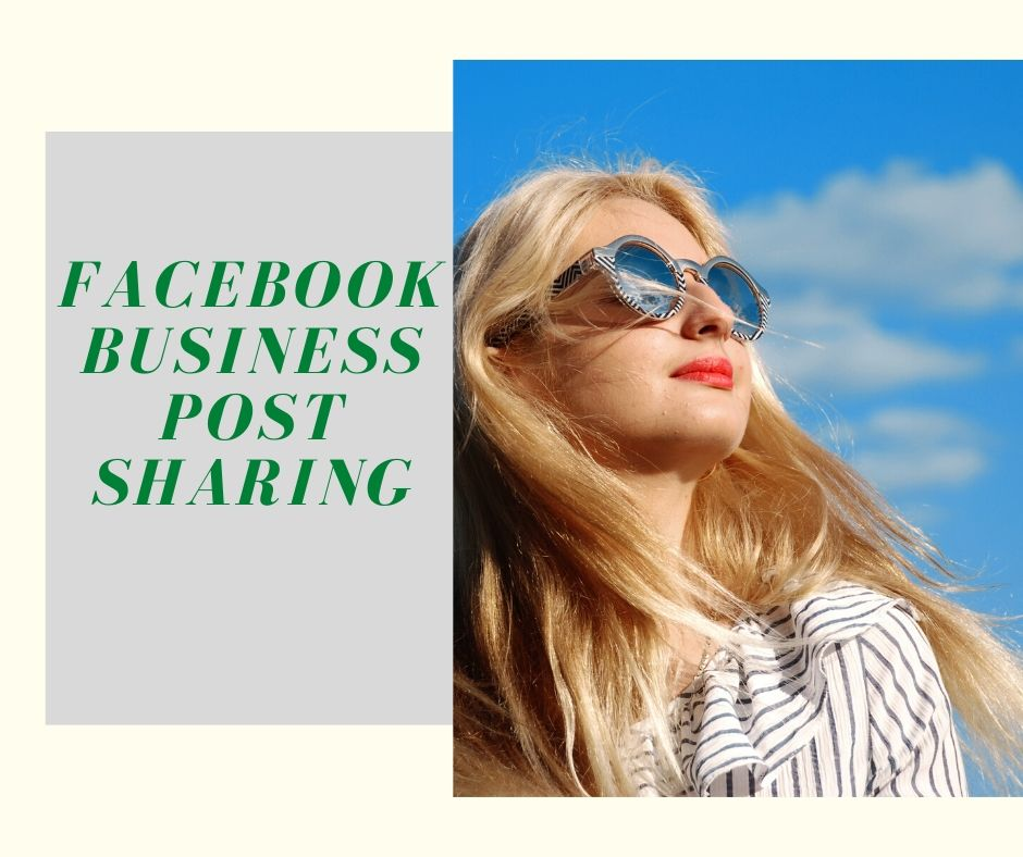 Facebook Business Post Sharing