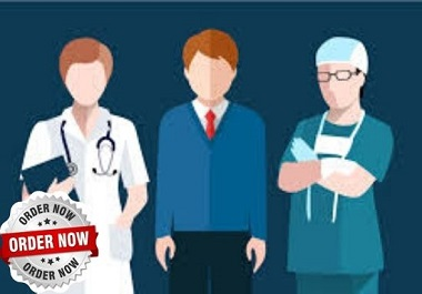 Manage Doctors,  Medicals,  Clinics Email List and other info