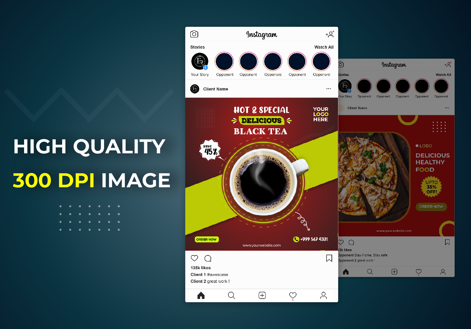 I will design an eye-catching social media or Instagram post in 24 Hours