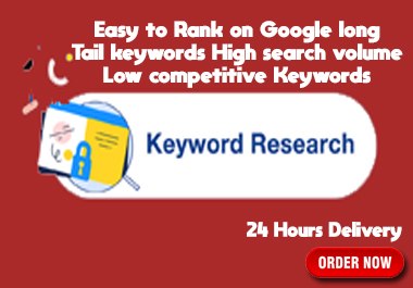 I will do depth SEO keyword research for your targeted niche fast delivary