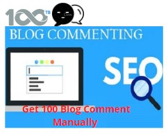 Get 100 Creative and Meaningful Blog Comment Manually