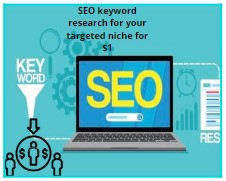 Keyword research for your targeted niche