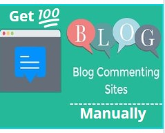Get Unique 100 blog comment manually