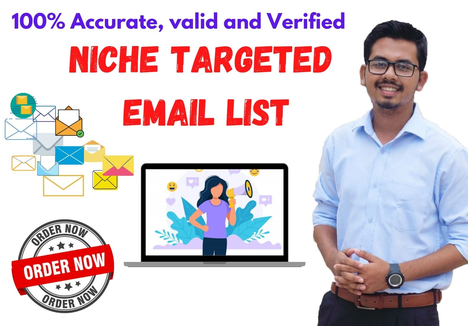 Get niche targeted 5k Active Email list for Branding Your Business Effectively