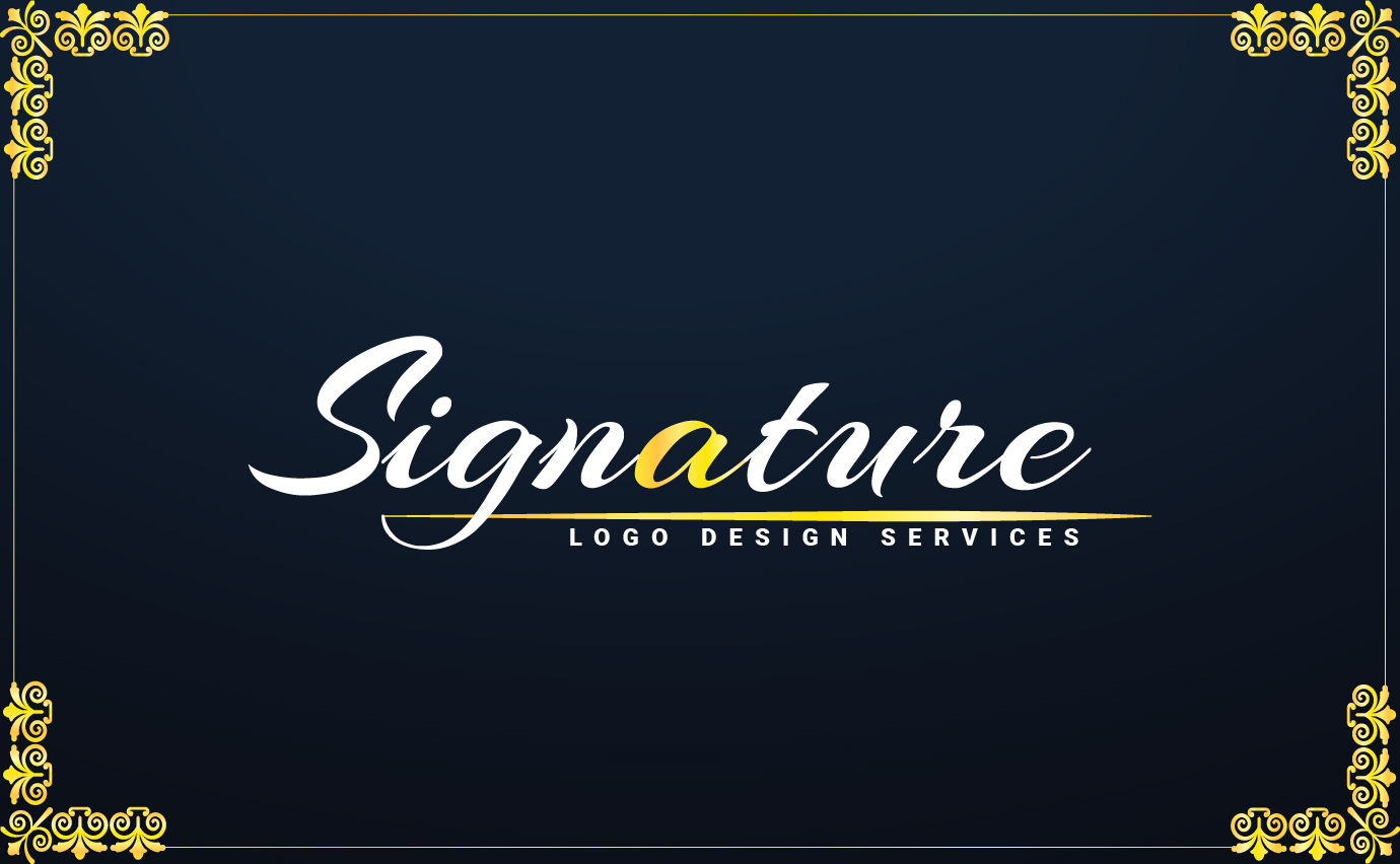 I will design handwritten signature logo within 1hrs