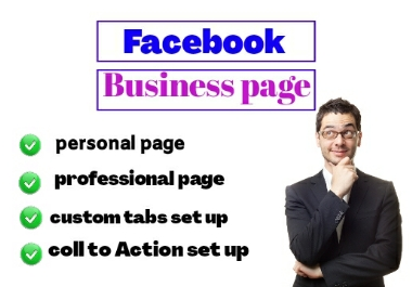 I will do the create facebook business page