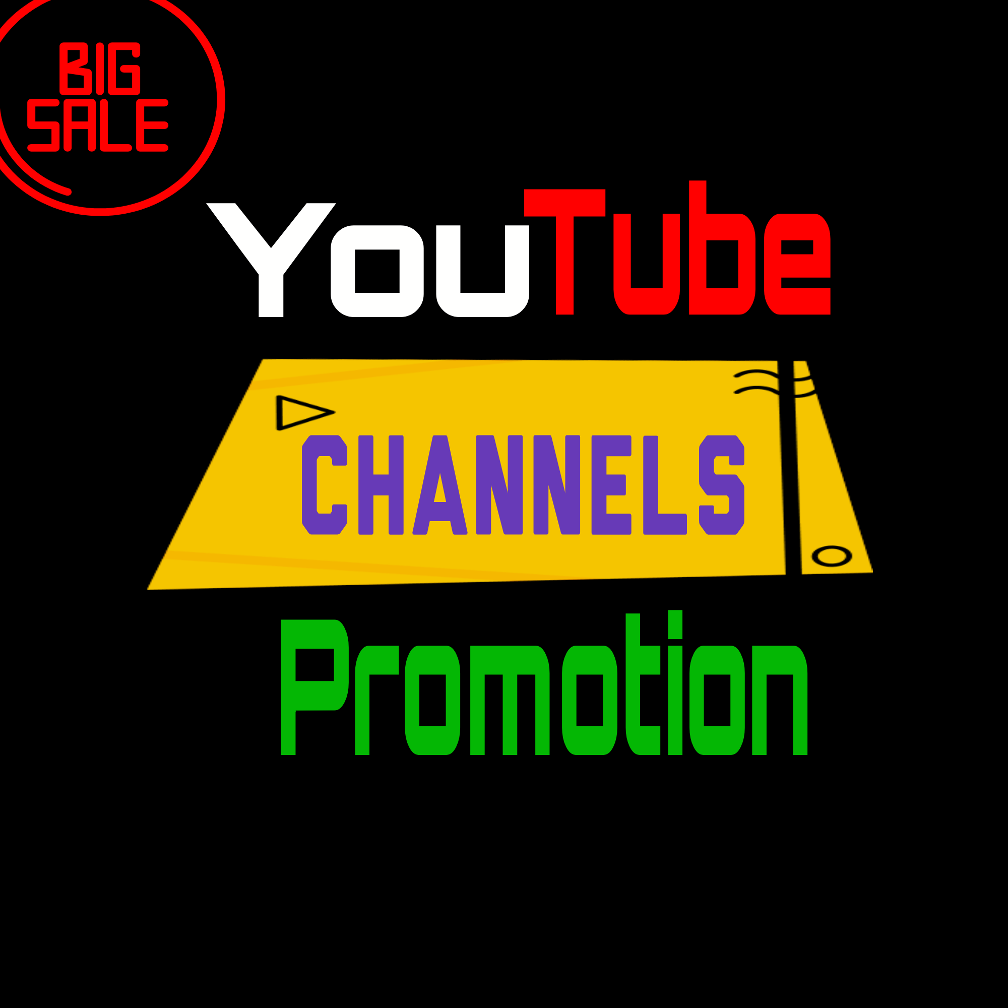 Channel Promotion & Marketing Fast Delivery