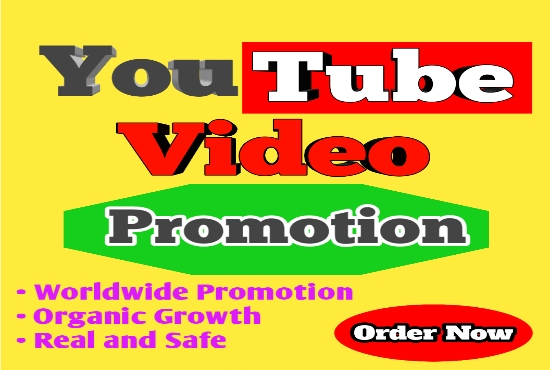 Super Offer YouTube Video Promotion Real and Safe