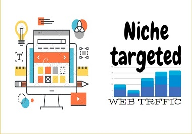 i can bring you web traffic relevant to your niche