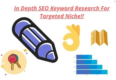 In Depth SEO Keyword Research For Targeted Niche