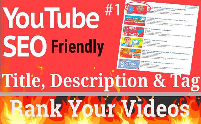 I will rank your youtube videos organically through SEO