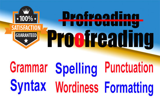 I will do proofreading and editing in 24 hours with lowest price.