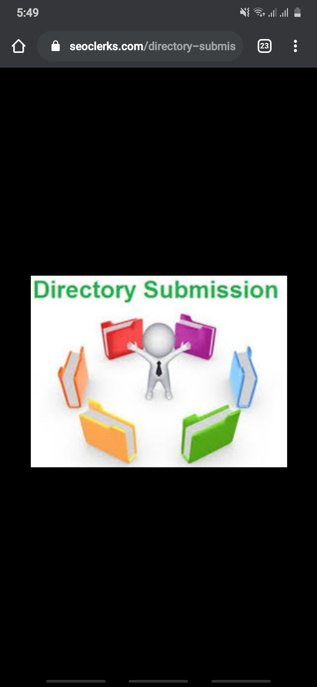 I will submit your website to 600 directories submissions