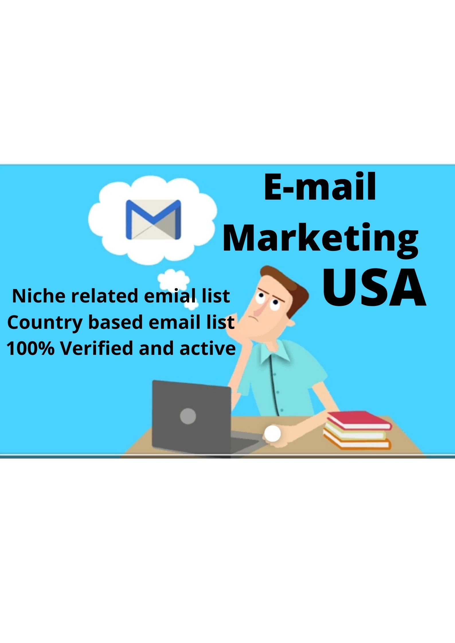 Provide 2K USA targeted niche based email list for you