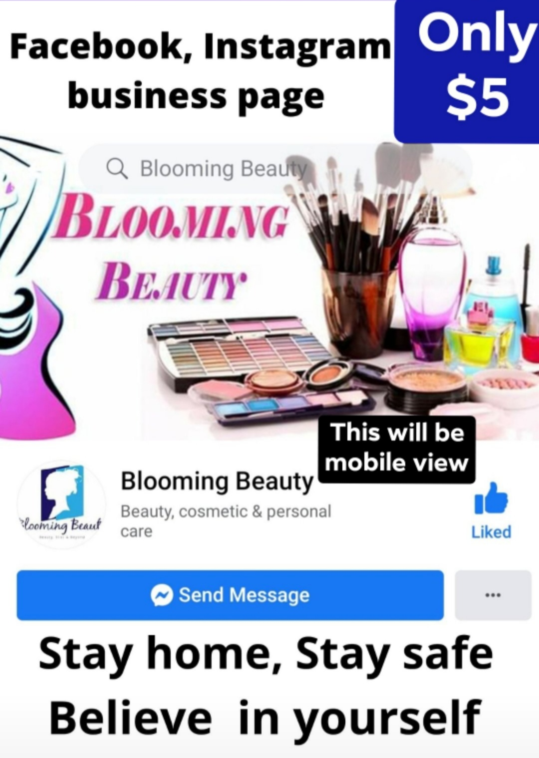 Create,  Develop and Promote business page for facebook, Instagram, LinkedIn