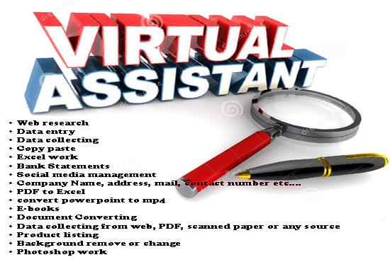 fill in as a Virtual Assistant for as much as you require.