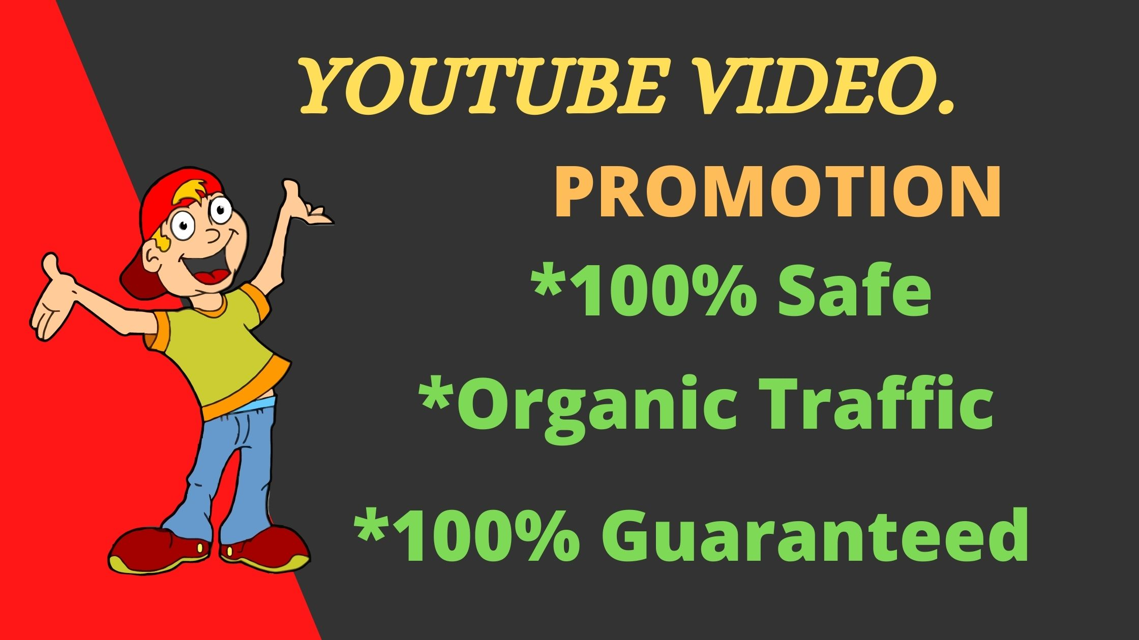 Real Audience fast YouTube video promotion Marketing Worldwide