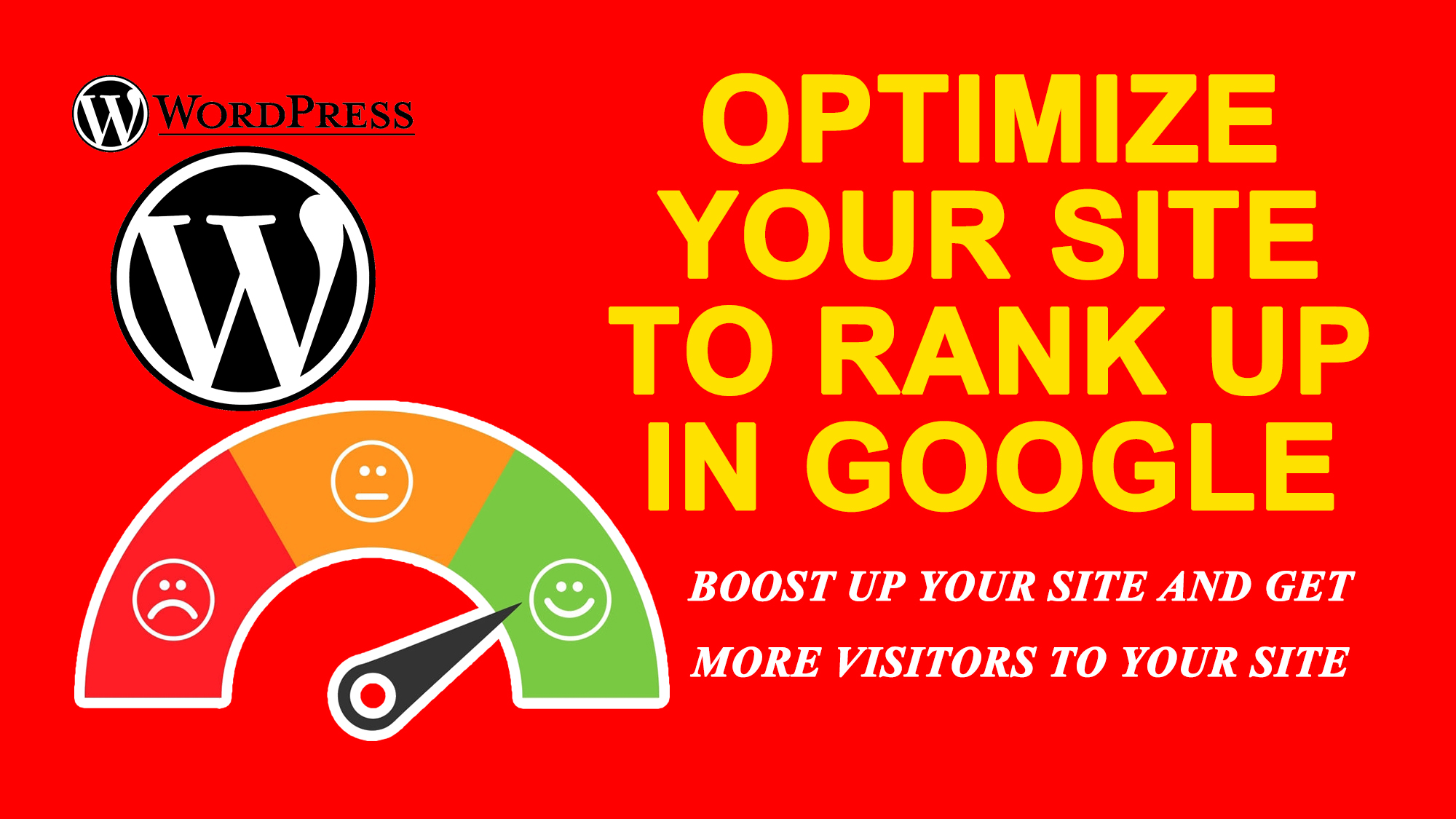 Increase Optimize WordPress website super fast