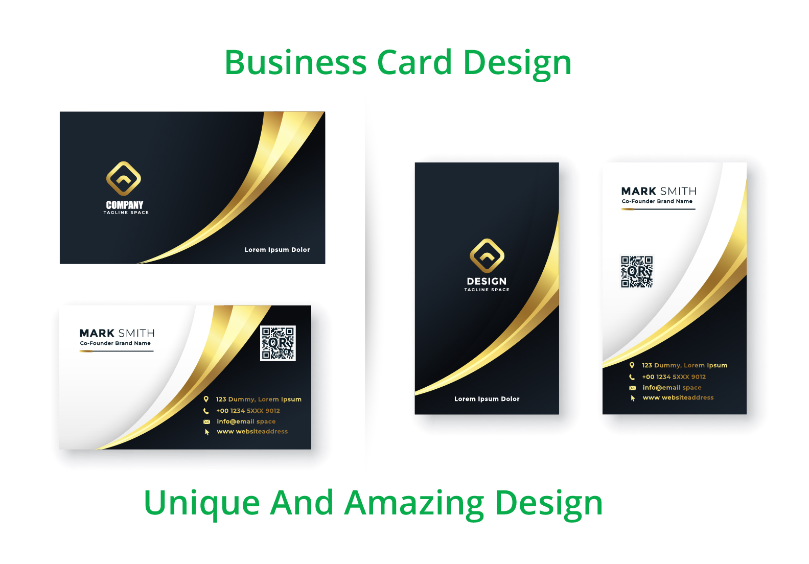 I will create unique and professional business card