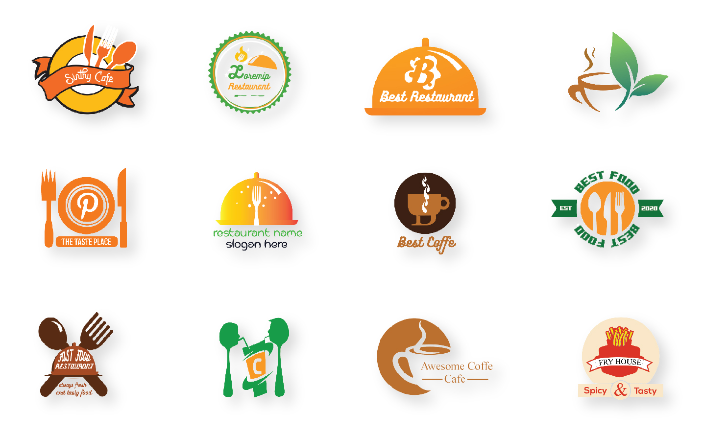 I Will Do Amazing Healthy Food Logo Cafe Logo Restaurant Logo Or Any Design In 24 Hours For 2 Seoclerks