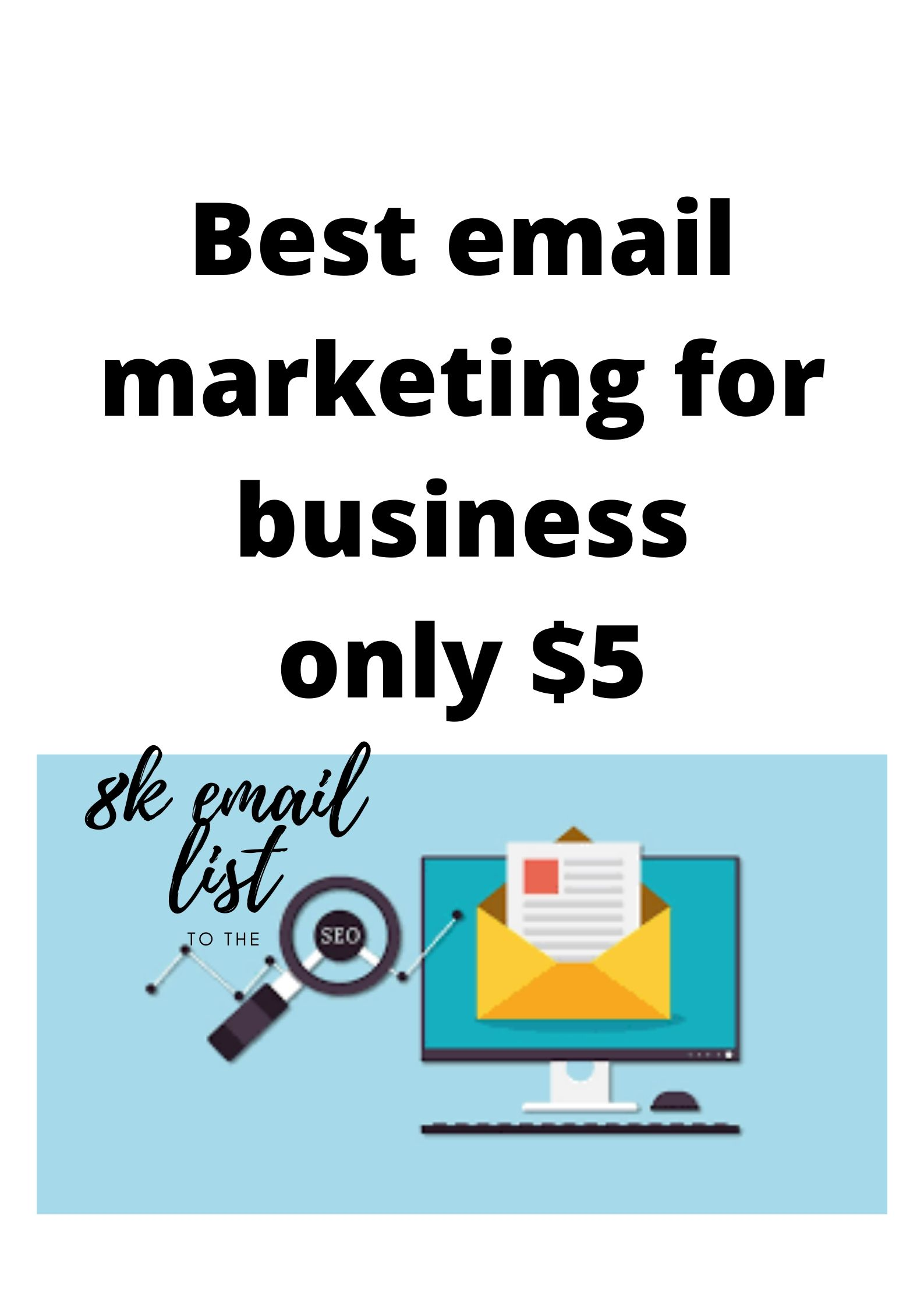 Best email list for business 8k email list