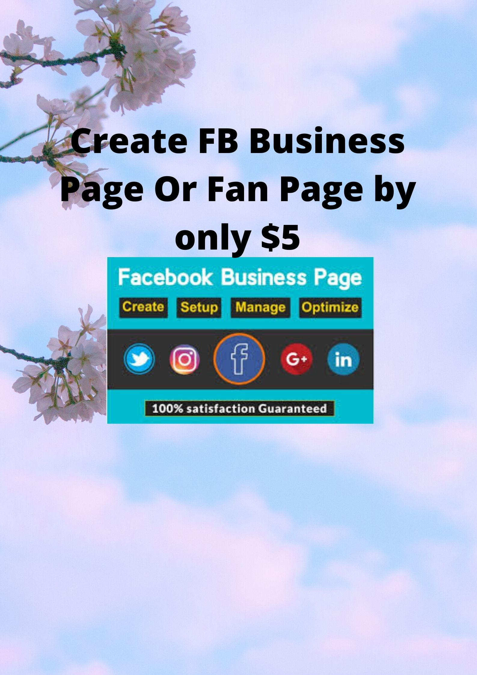 Create an effective Facebook business Page