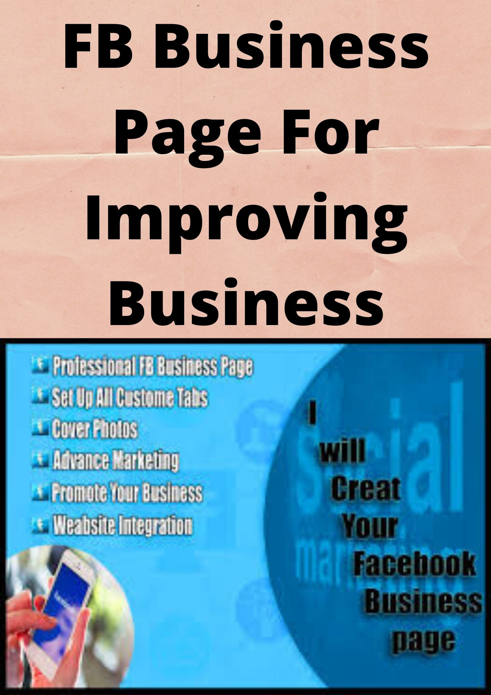 FB Business Page for Improving Your Business