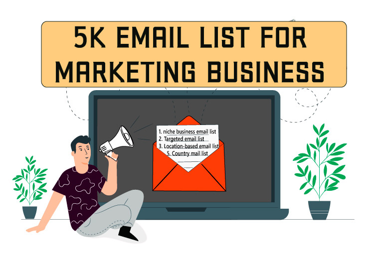 I will create your targeted audience FOR your valuable business EMAIL marketing