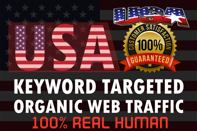 I will drive niche targeted real organic USA web traffic long visit 2 min