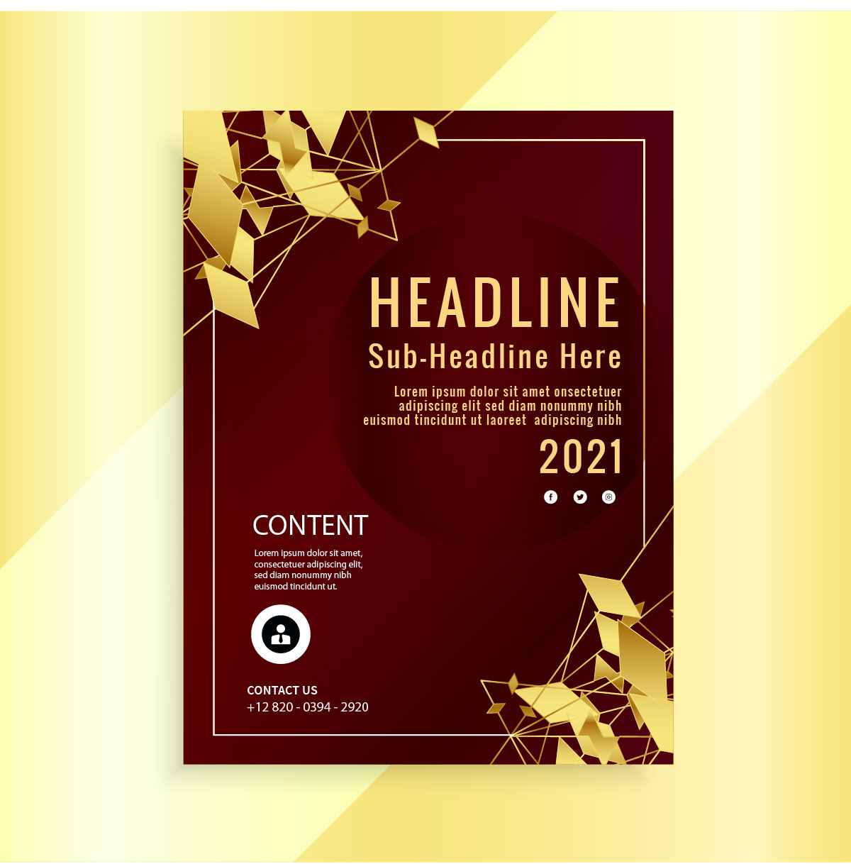 I will design stylish flyer,  poster, magazine ads or trifold brochure