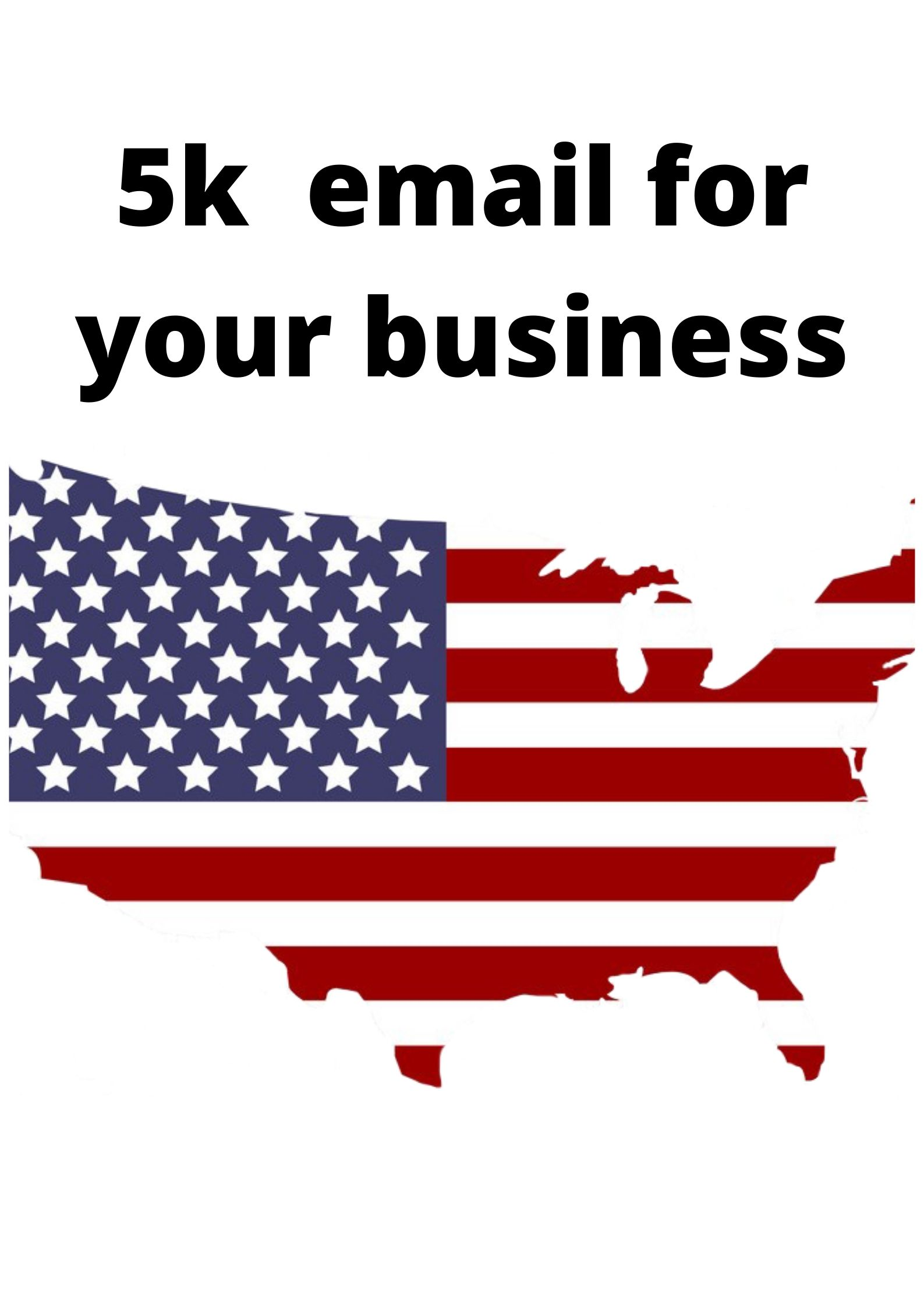 5 thoushand email list for your business