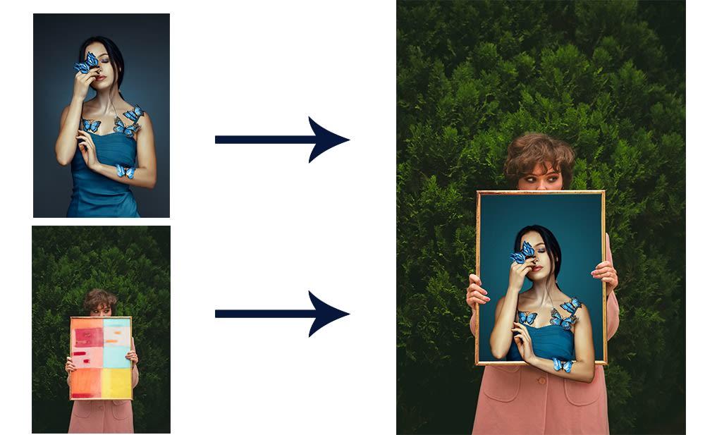 I will photo manipulation editing photoshop