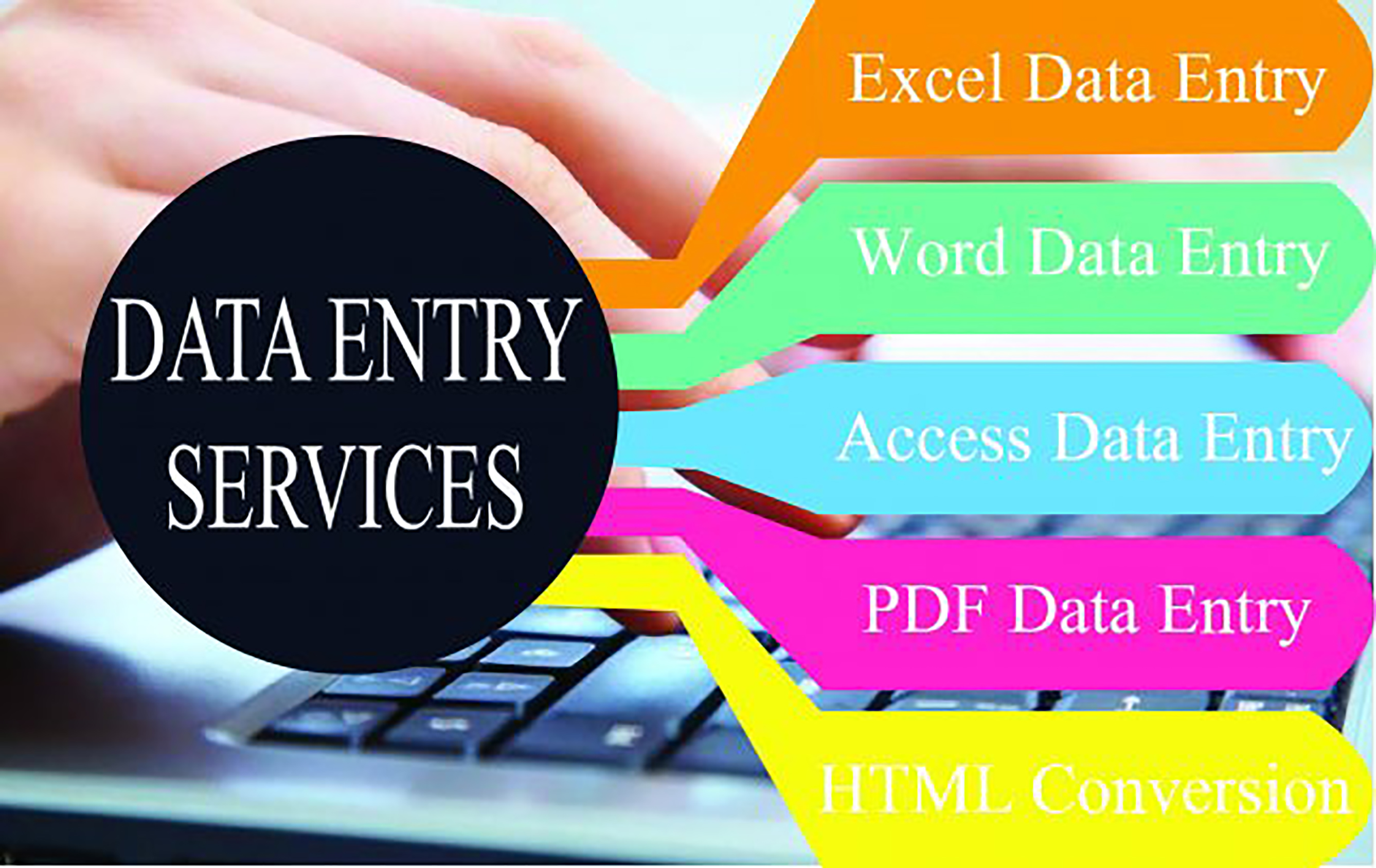 I Will Do Any Kind Of Data Entry work and be your virtual assistant for 5