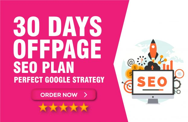 I will do monthly complete seo service for your website ranking 1st