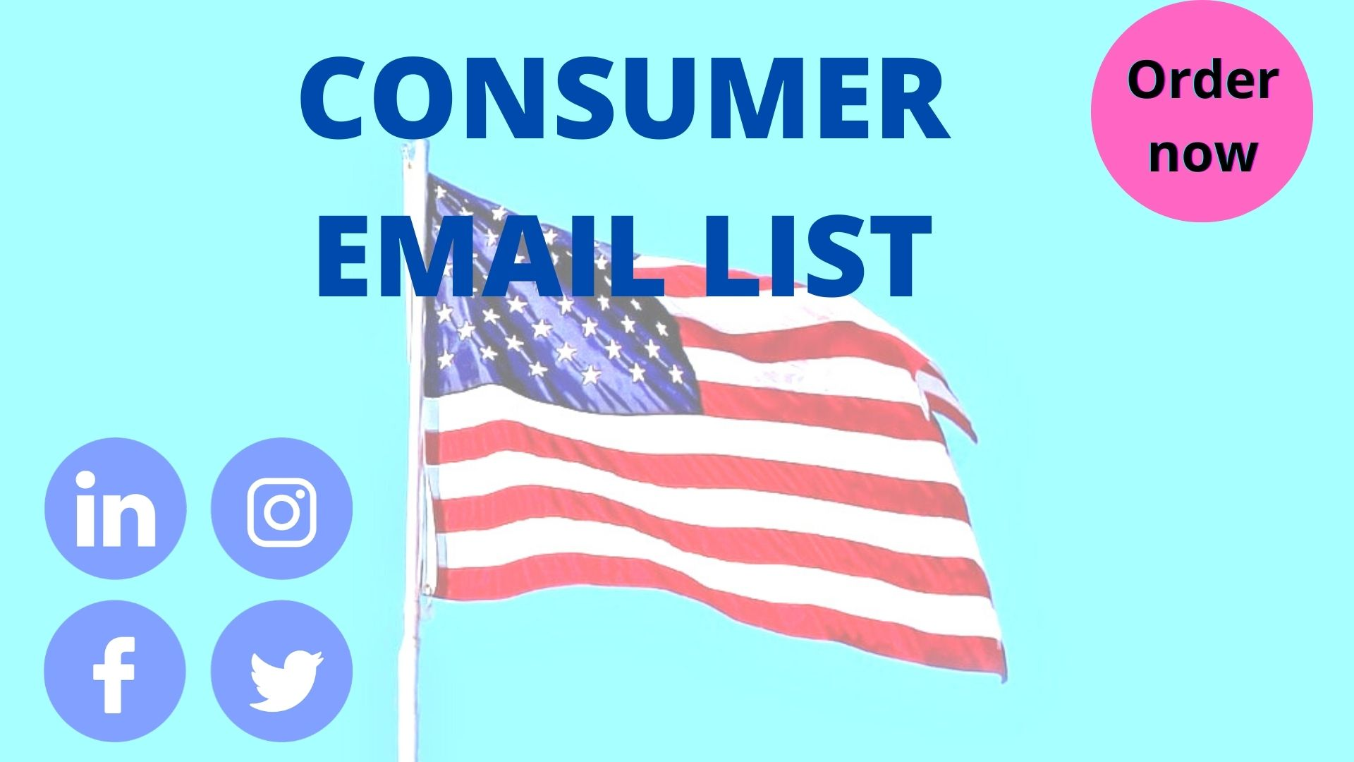 I will provide USA based consumer Email list 5k and more