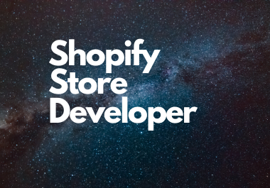 create, launch, develop your shopify dropshipping store website, Shopify One product Store