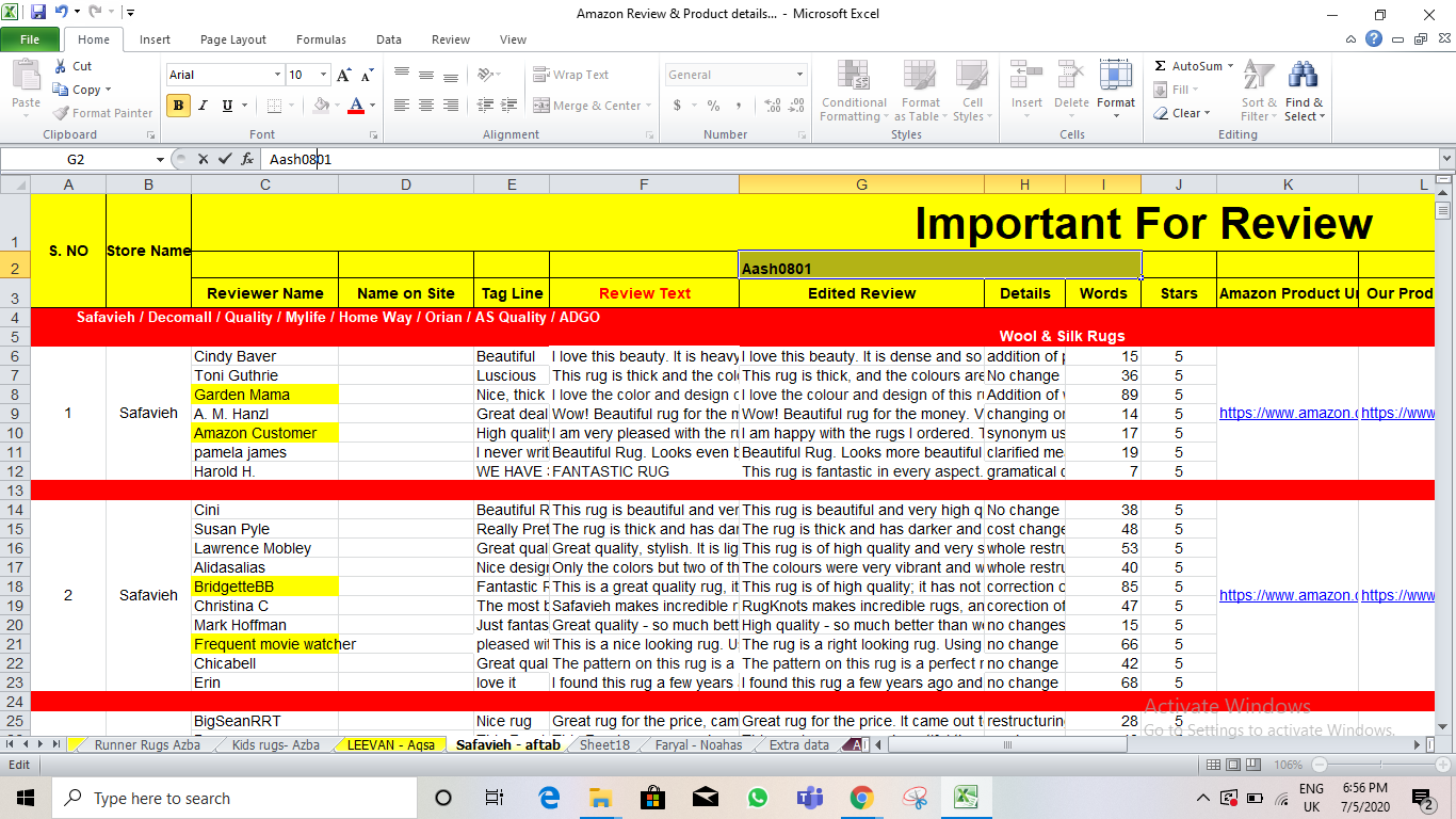 2 hours of Data Entry, Web Research, Copy Paste Work