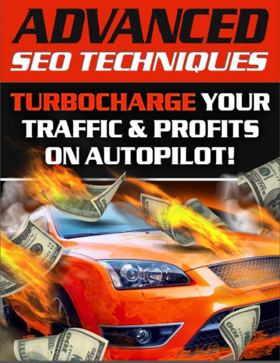 ADVANCED SEO TECHNIQUES Ebook improve your search rankings