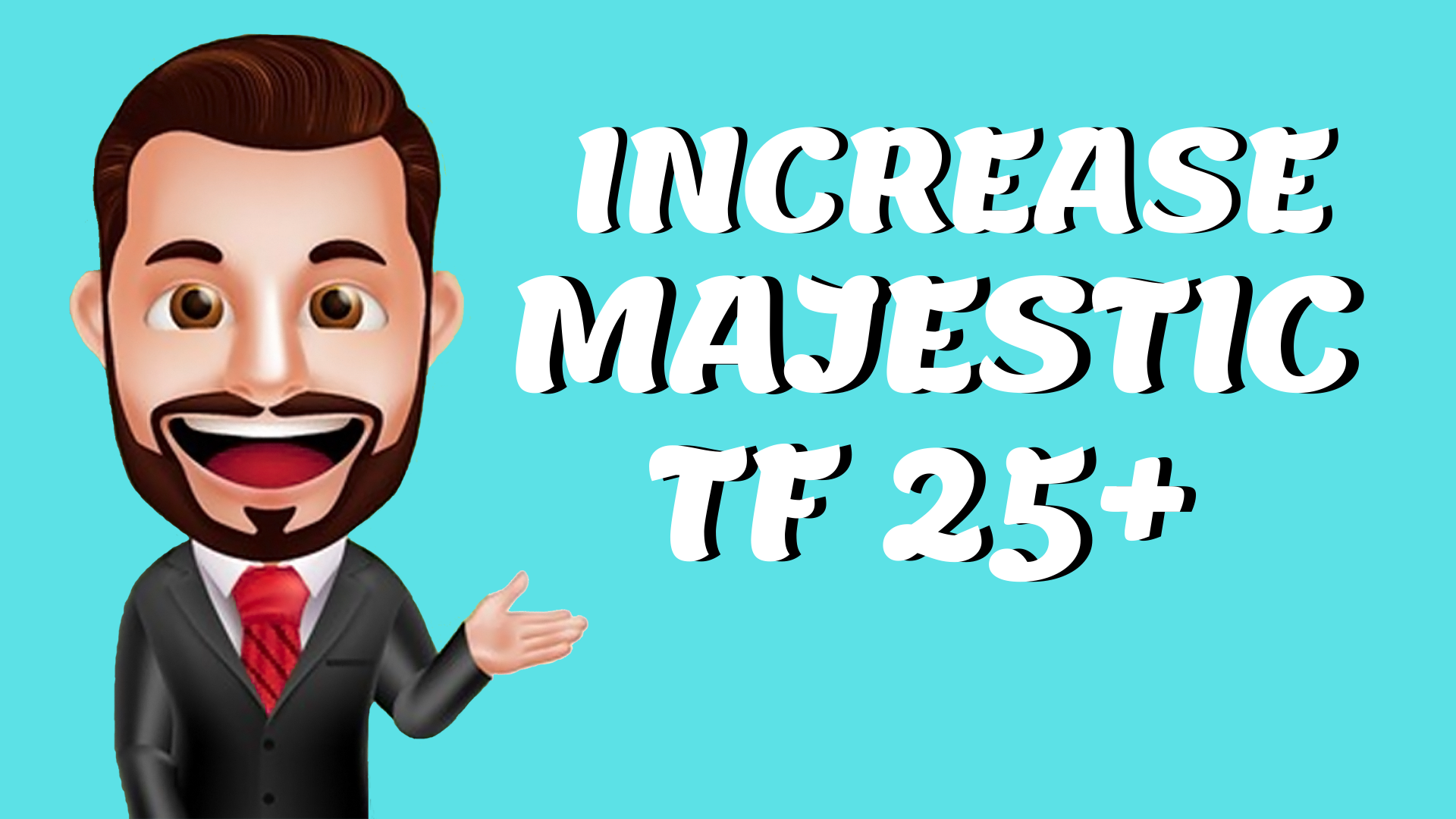 I will increase Your Website majestic Trust Flow 25 Plus