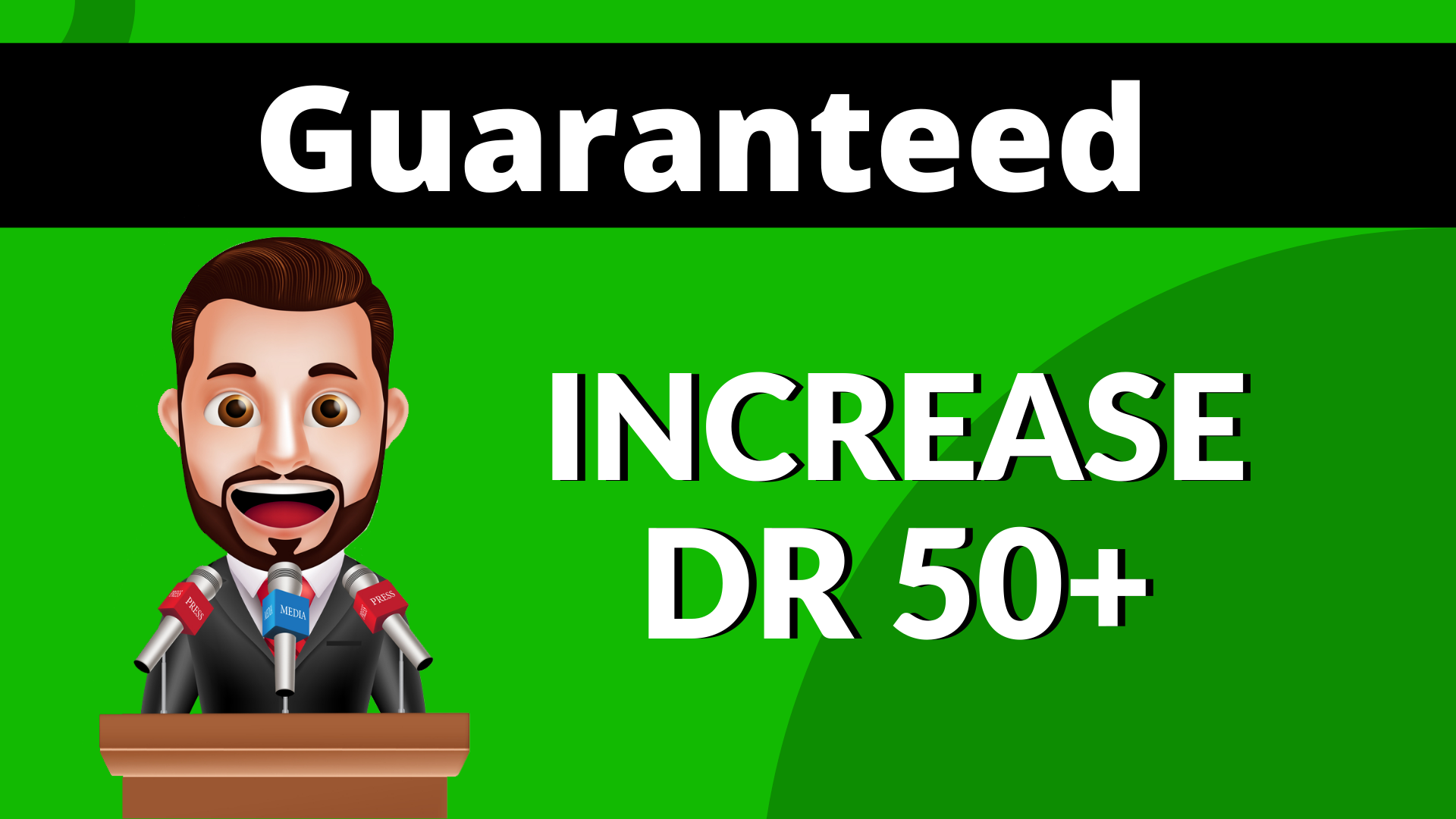 I will increase domain rating Ahrefs dr 50 Plus