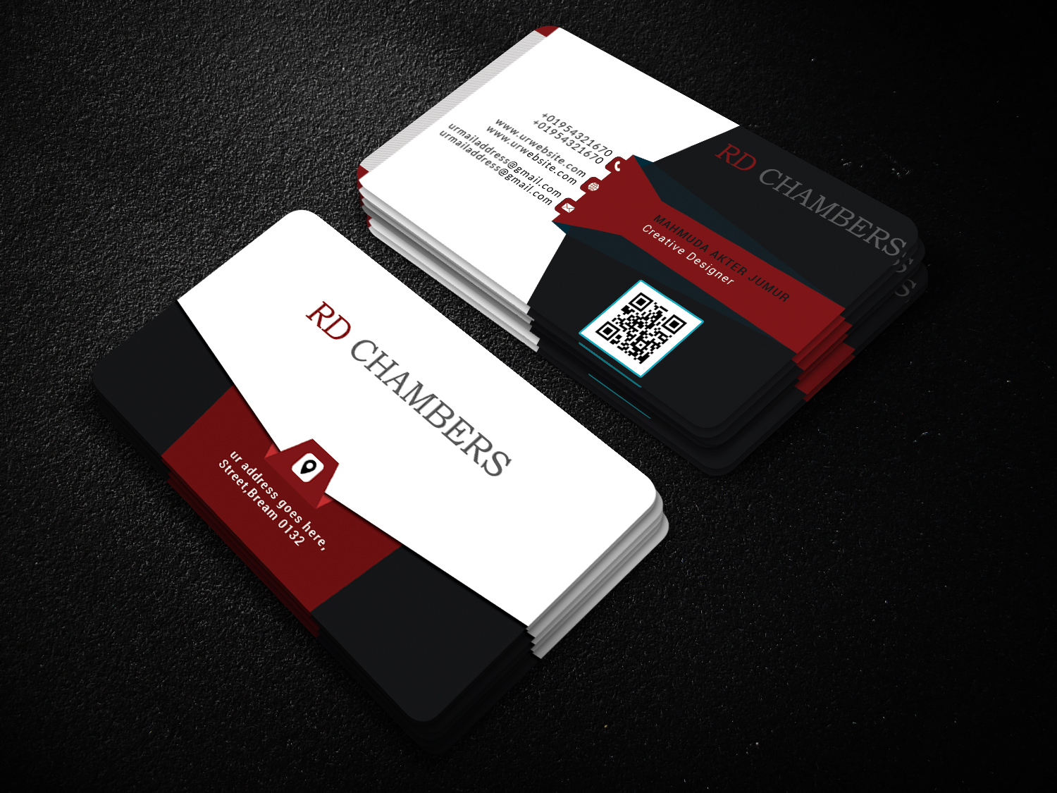 I will do professional business card, letterhead and full stationery